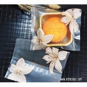 ถุงซีลลายดอกไม้ DELICIOUS ขนาด10.5*13.*ซม