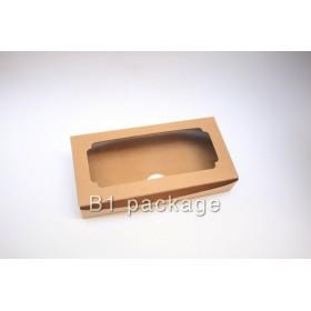 กล่องบราวนี่2ชิ้นคราฟ แพค20ใบ
