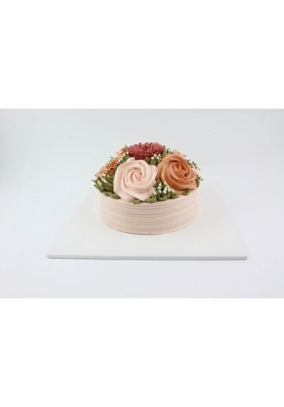 cake board สีขาว 4ปอนด์