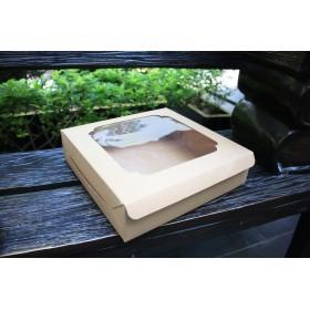 กล่องบราวนี่ 1ปอนด์ เตี้ย คราฟ