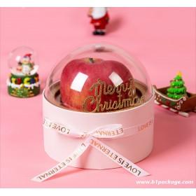 กล่องของขวัญฝาโดม สีชมพู
