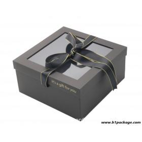 กล่องของขวัญ premium box สีดำ